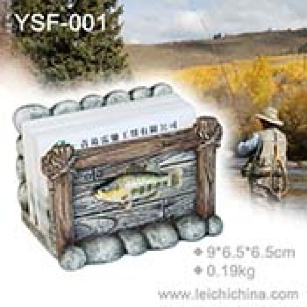 Fishing gift name card holder