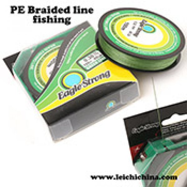 PE braided fishing line (smart package)