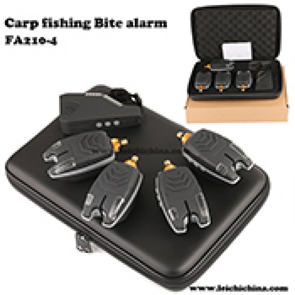 Carp fishing wireless bite alarm FA210-4