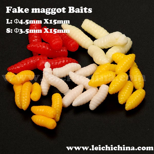 carp fishing artificial maggot bait