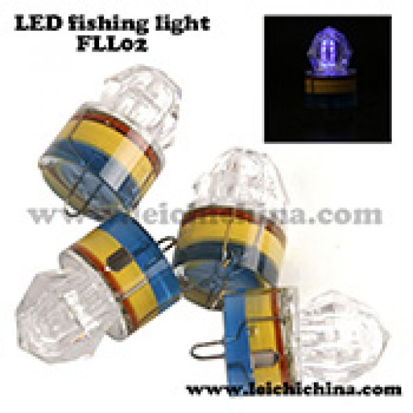 LED Underwater Diamond Fishing lure Light FLL02