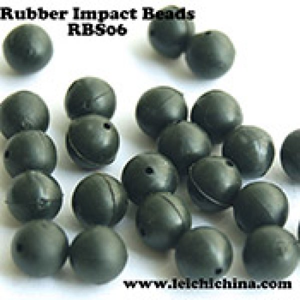 fishing rubber impact beads RBS06