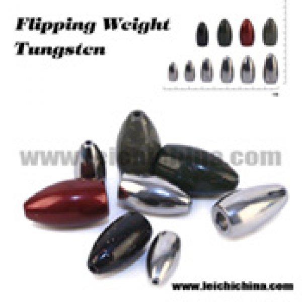 Tungsten flipping weight