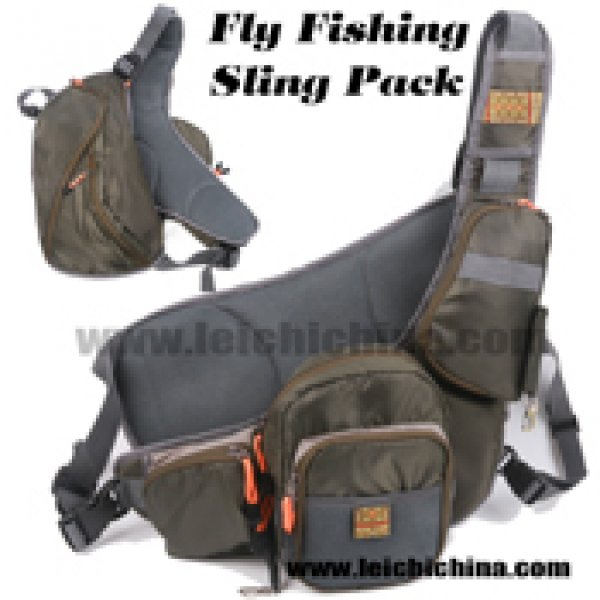 fly fishing sling pack
