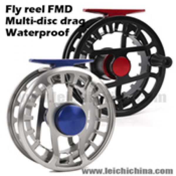 Waterproof Multi-disc Drag Fly Fishing Reel FMD