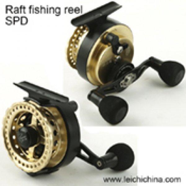raft fishing reel