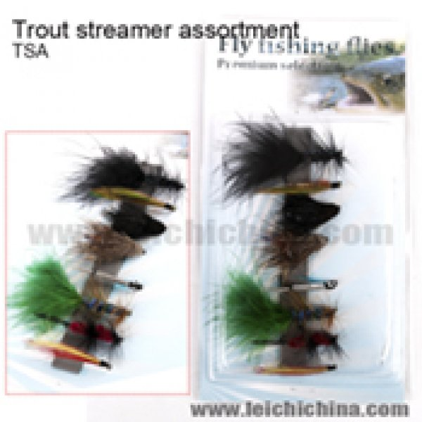 Trout streamer assortment TSA