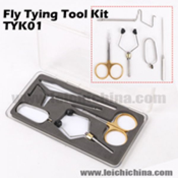 Fly tying tool kit TYK01