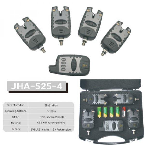 p fishing wireless bite alarm JHA-525-4