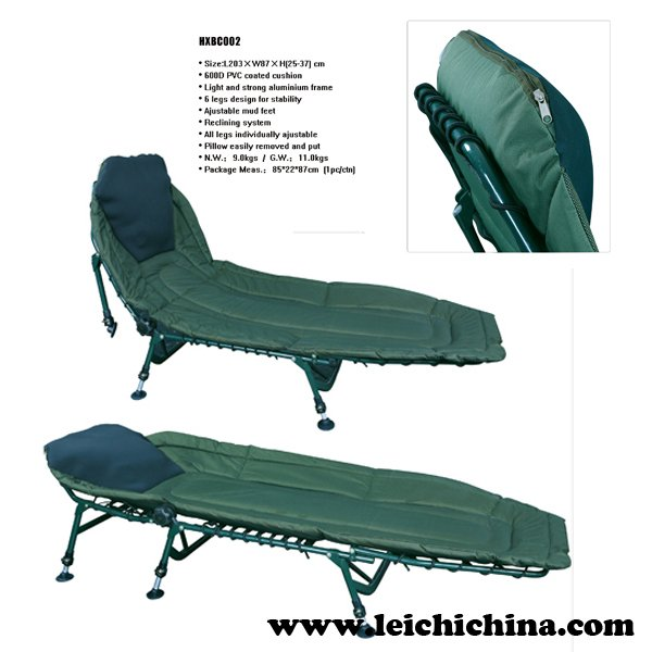 carp fishing bed chair hxbc002