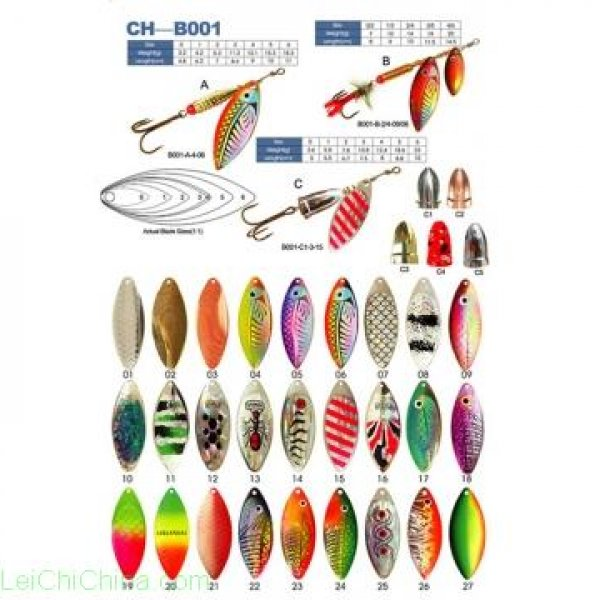 spinner, fishing lure