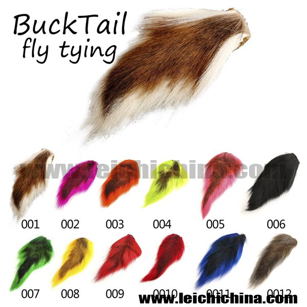 Fly tying bucktail