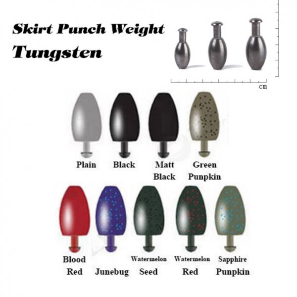 skirt punch weight