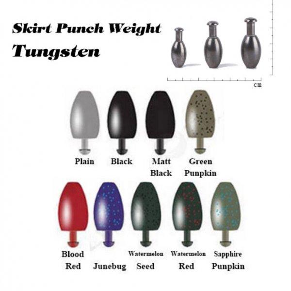skirt punch weight