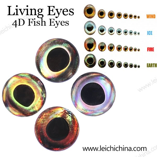 living eyes 4D fish eyes