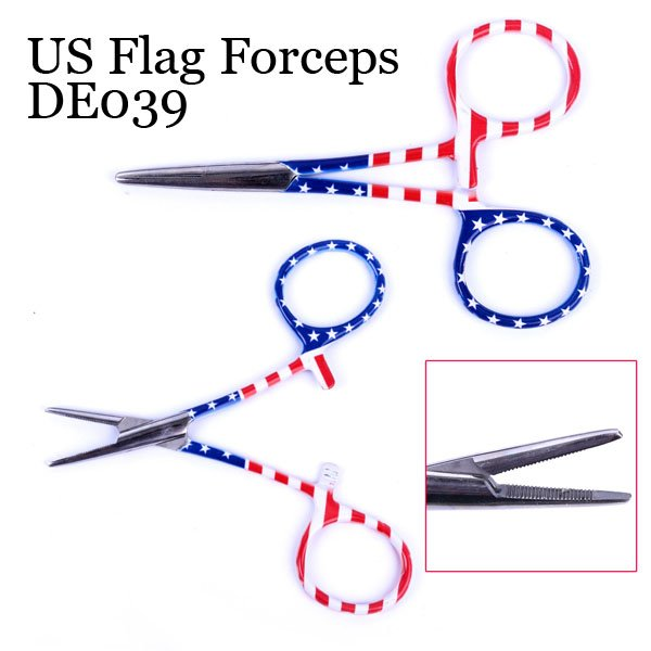 US Flag Forceps de039