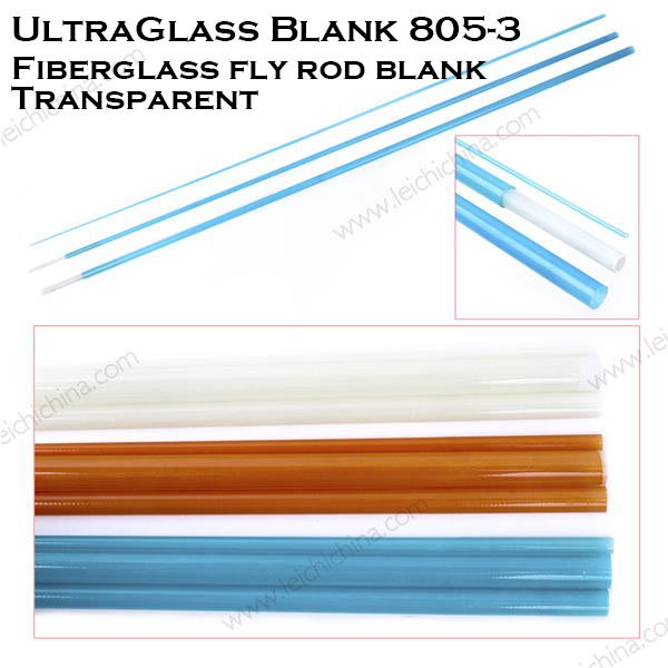 Ultraglass Fiberglass fly rod Blank 8053