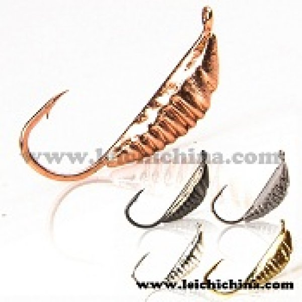 Tungsten ice fishing jig Tiny Catepillar