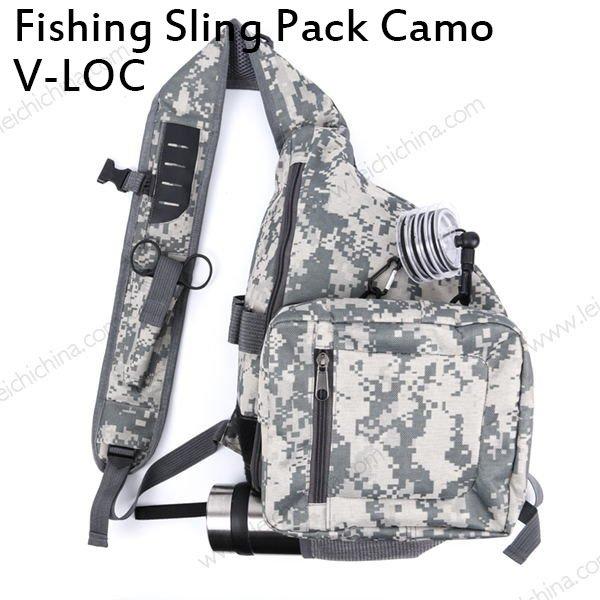 Fishing Sling Pack Camo V-loc