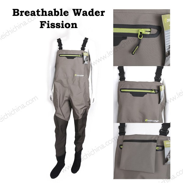 Breathable Fishing Waders Fission
