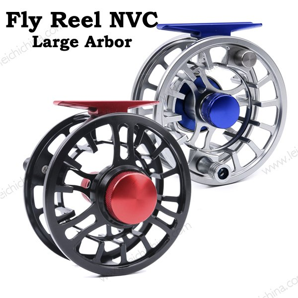 CNC Aluminum Large Arbor Fly Fishing Reel NVC