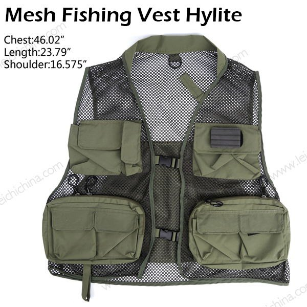 Mesh Fishing Vest Hylite
