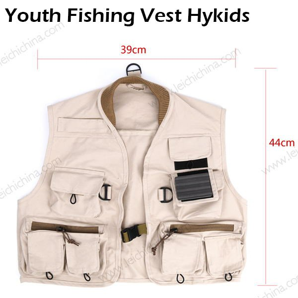 Youth Fishing Vest Hykids