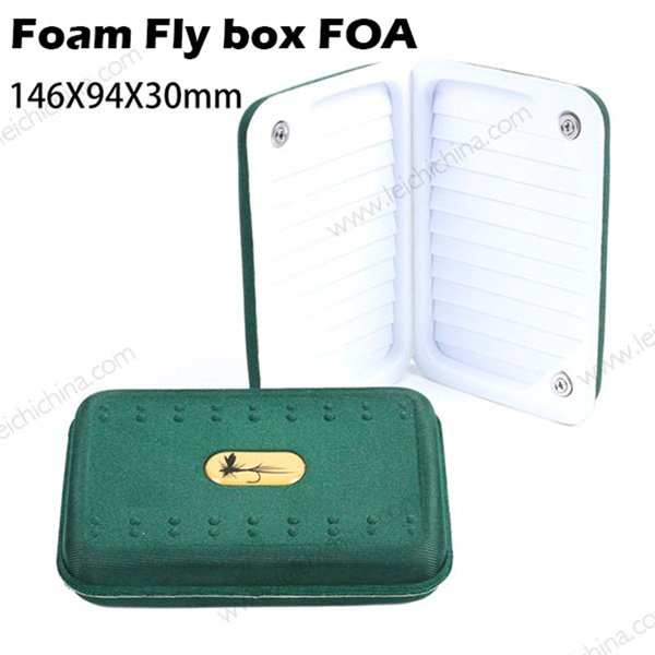 Ultra lightweight Soft Foam fly box FOA