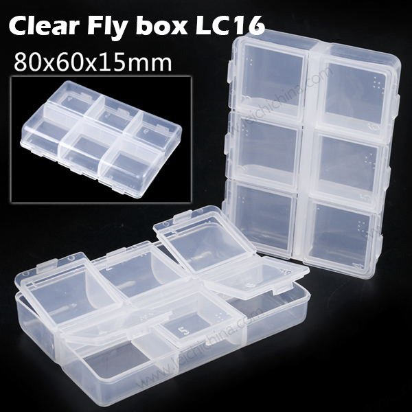 Clear fly box lc16