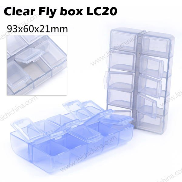 Clear fly box lc20