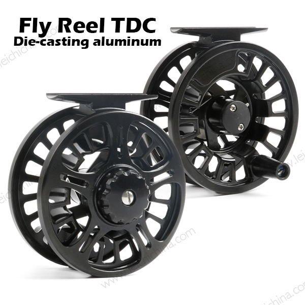 Die Casting Aluminum Fly Fishing Reel TDC