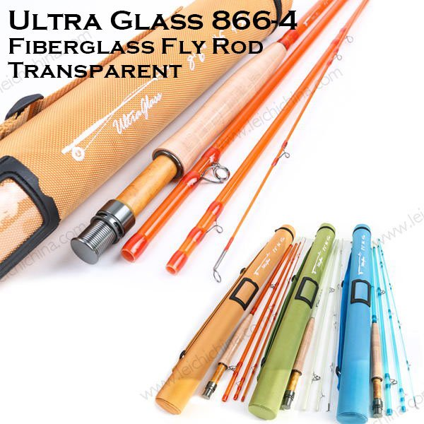 UltraGlass Fiberglass Fly Fishing Rod 8664