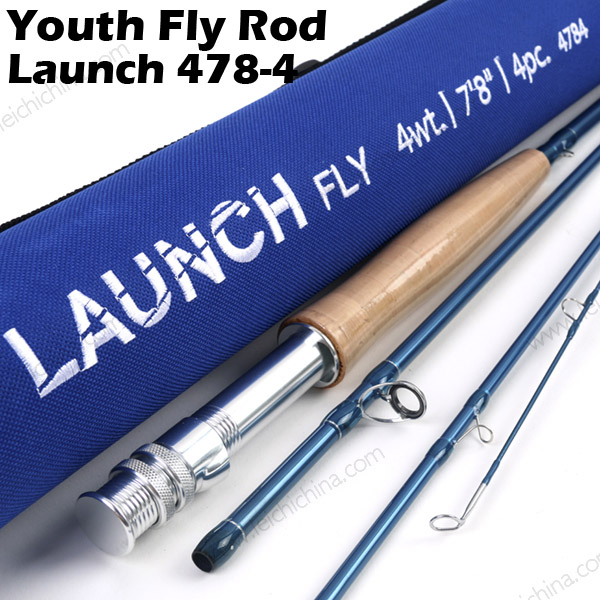 Youth Fly Rod Launch 4784