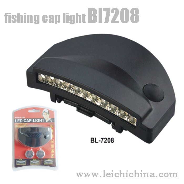 fishing cap light Bl7208