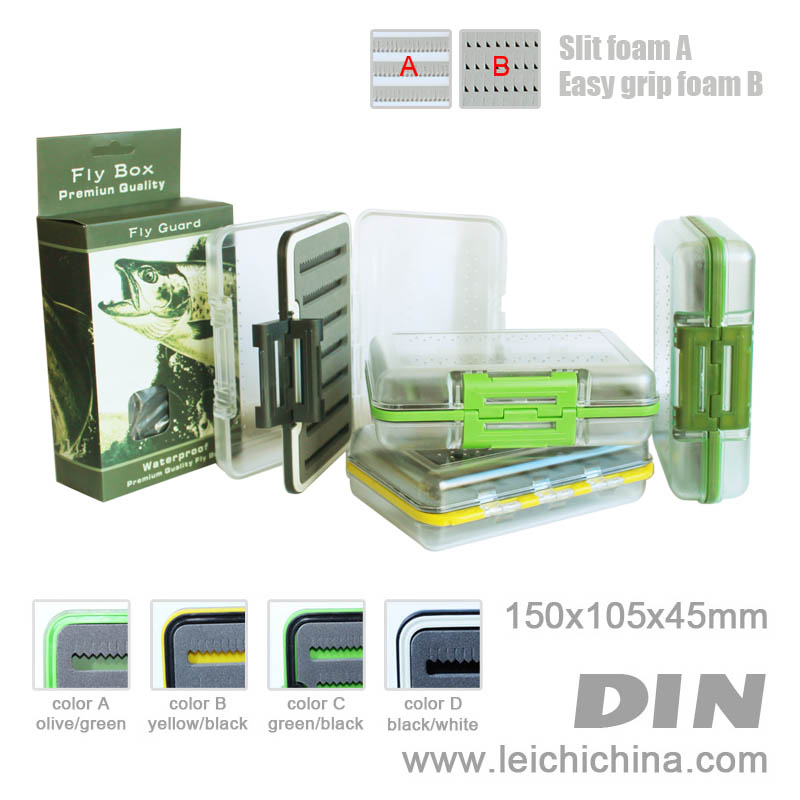 EXCLUSIVE waterproof fly box DIN2