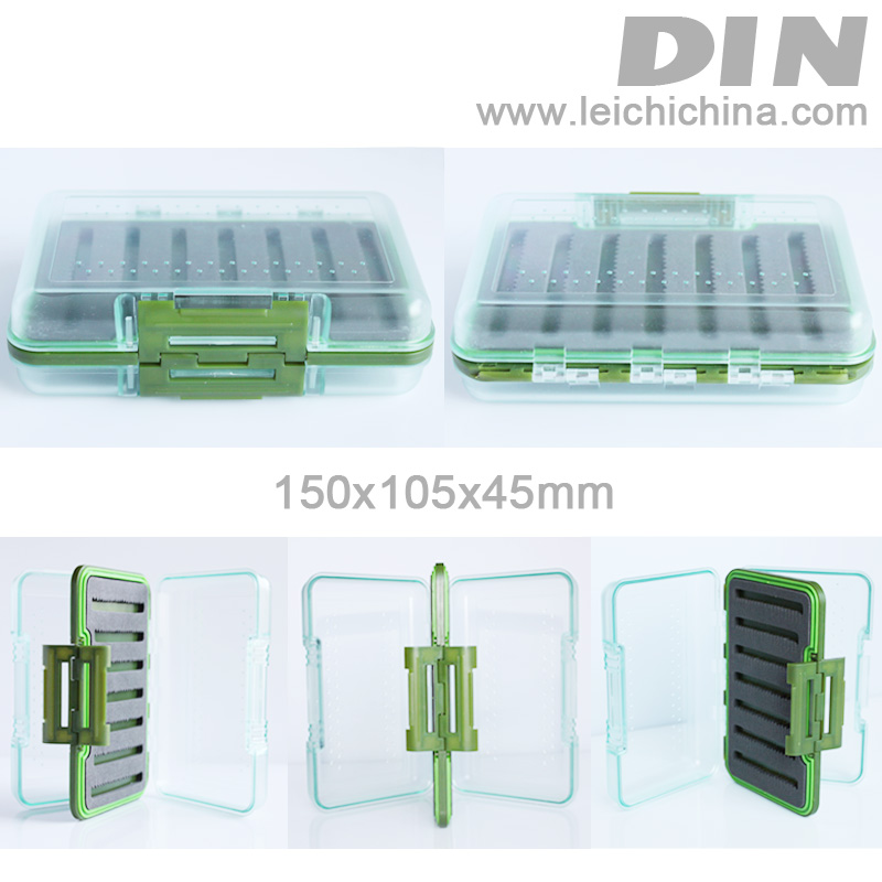 EXCLUSIVE waterproof fly box DIN1