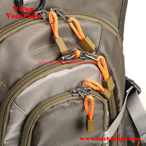 fly fishing V-pop vest pack2