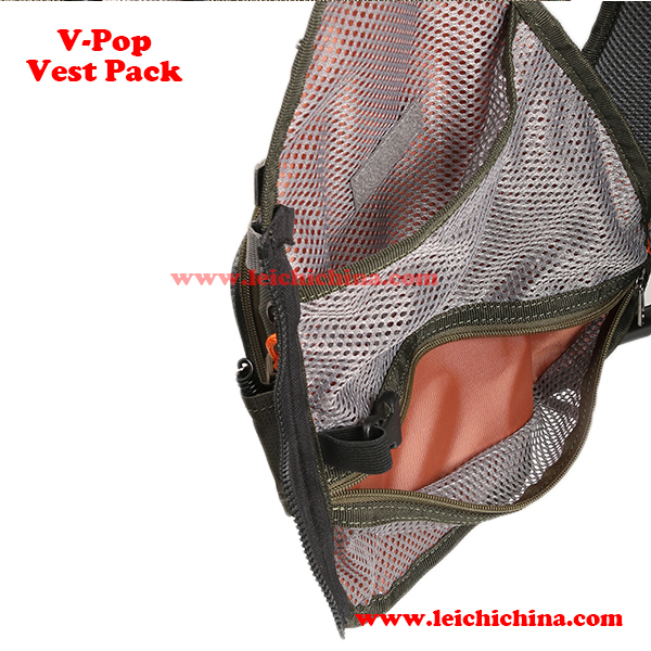 fly fishing V-pop vest pack4