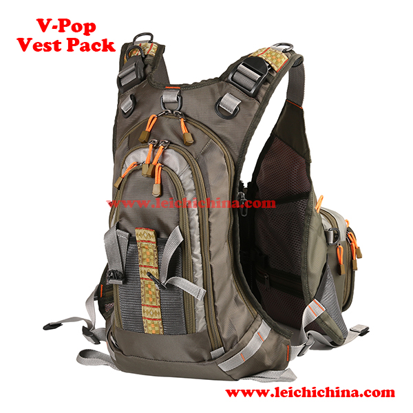 fly fishing V-pop vest pack1